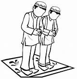 Praying Mewarnai Lomba Islami Sembayang Moslem Gebet Gebetsteppich Prayer Weltreligionen Handwerk Madrasah Arbeitsblatt Religieuse Vorschule Prinzessin Musa Pemata Yayasan Batam sketch template