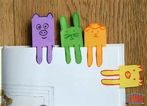 Marque Page En Papier : des marque pages animaux cabane id es ~ Melissatoandfro.com Idées de Décoration