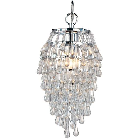 modern mini chandelier gt 113 59 teardrop chrome