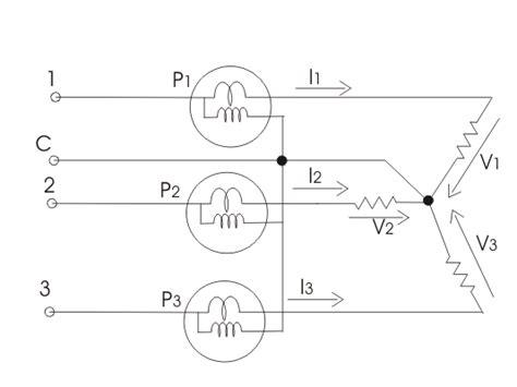 Measurement Three Phase Power Electricalu