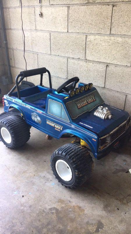 original bigfoot power wheels  sale  lancaster