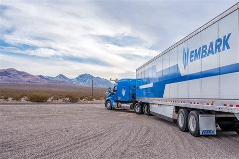 embarks  driving trucks   ease drivers fatigue