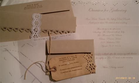 diy vintage inspired wedding invitations t h e d a y