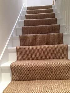 Hall stairs landing the flooring group for Sisal carpet stairs
