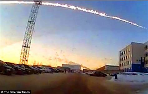 Russian meteor shower: Fireball from outer space: 1,000 ...