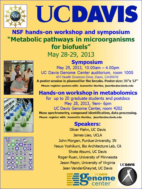workshops west coast metabolomics center