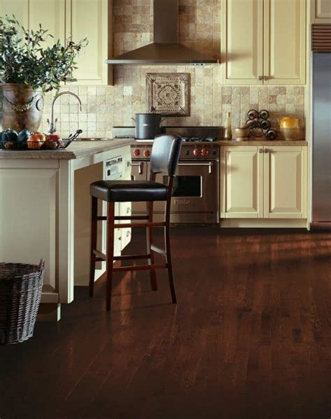 Kitchens with dark hardwood flooring   Westchester County