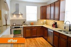 nice cheap kitchen makeover 4 cheap kitchen makeovers before and after 1153