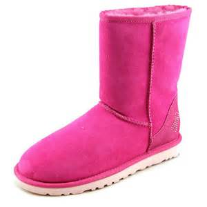 ugg australia ca womens suede pink winter boots