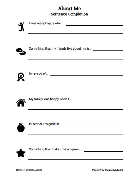 building self esteem worksheets worksheets for school