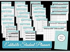 study planner AllAboutTheHouse Printables