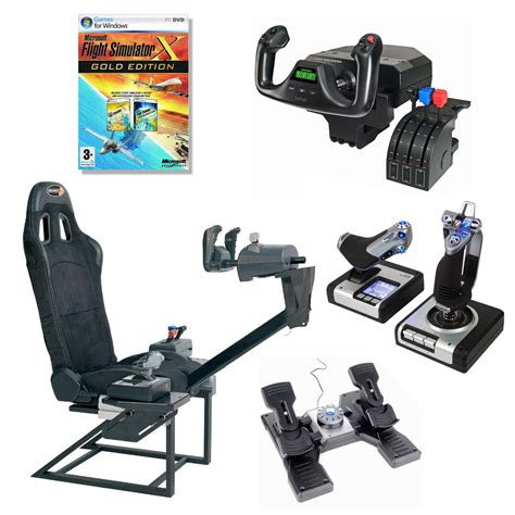 siege simulateur de vol playseats flightseat saitek pz44 saitek pz35 saitek