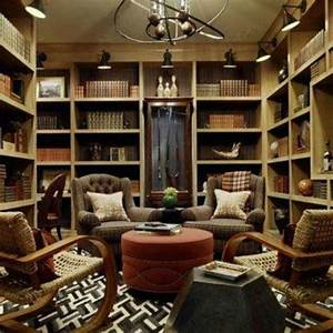A busy, yet cozy library setup.. | For the Home | Pinterest