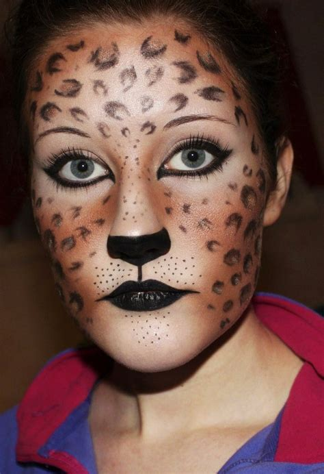 leopard make up leopard makeup by creativemakeup on deviantart