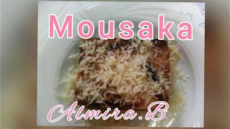 Recete per Mousaka(Recipe Moussaka) - YouTube
