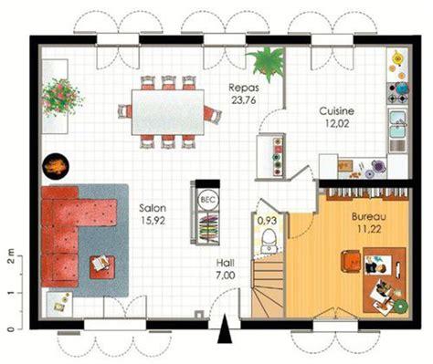 plan maison etage 4 chambres 1 bureau plan maison etage 3 chambres 1 bureau bricolage maison
