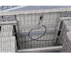 Polyrattan Tisch Höhenverstellbar : polyrattan tisch g nstige polyrattan tische bei livingo kaufen ~ Eleganceandgraceweddings.com Haus und Dekorationen