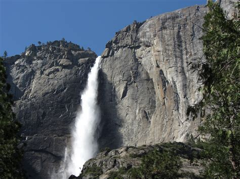 Yosemite Falls Waterfall National Park
