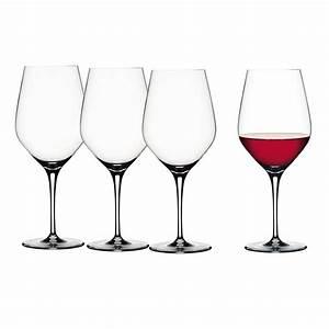 Verre à Vin Géant : verres vin rouge cristal authentis vessiere cristaux ~ Teatrodelosmanantiales.com Idées de Décoration
