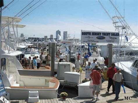 Boat Show Golden Nugget by Farley State Marina Atlantic City Nj