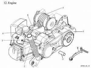 Engine   Get 2 It Parts  Llc  Atv  Scooter  Go Kart  Dirt Bike And Moped Parts