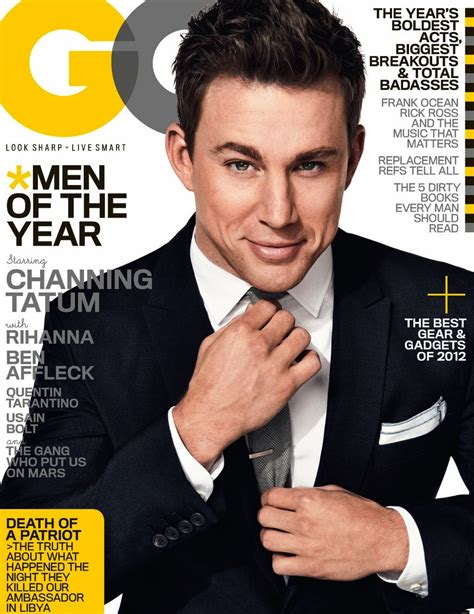 Gq Of The Year by Channing Tatum Gq S Of The Year