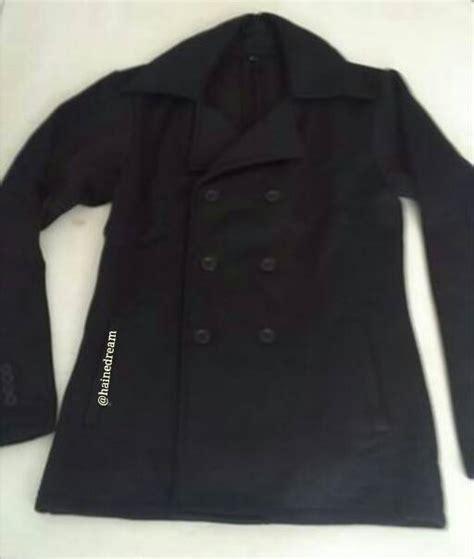 jual coat pria mantel baju hangat jaket korean style