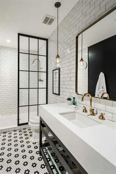 monochrome bathroom ideas photos salle de bain 34 exemples de d 233 co tendance