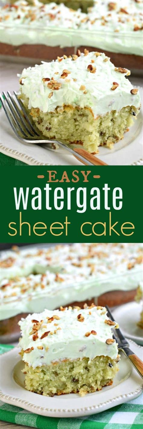 cake watergate sheet pistachio recipe shugarysweets pudding sweets easiest easy recipes shugary connect