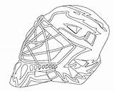 Goalie Hockey Mask Coloring Pages Nhl Jason Colouring Bruins Ice Boston Drawing Printable Template Player Logos Stick Getcolorings Painting Getdrawings sketch template