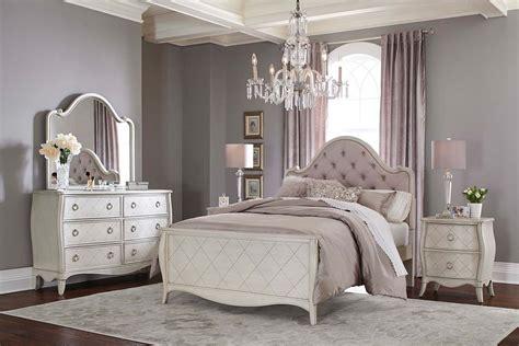 ne kids angela arc upholstered bedroom set opal grey ne