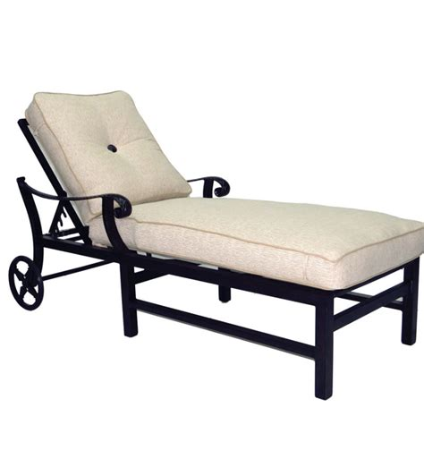 chaise colier cushioned chaise lounge collier