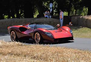 The De Tomaso P72 Is A Sexy Supercar With A Manual Gearbox