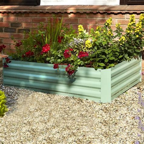 Raised Planters by Large Raised Bed Planter Various Colours Savvysurf Co Uk