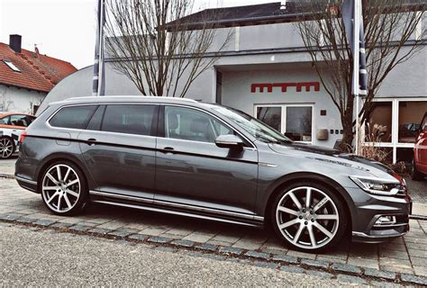 Mtm Vw Passat Variant B8 On 20 Inches And 350ps & 425nm