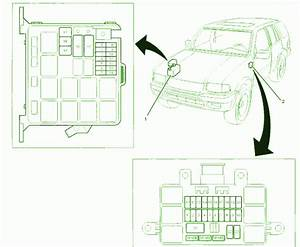 99 Isuzu Rodeo Ls Underhood Fuse Box Diagram