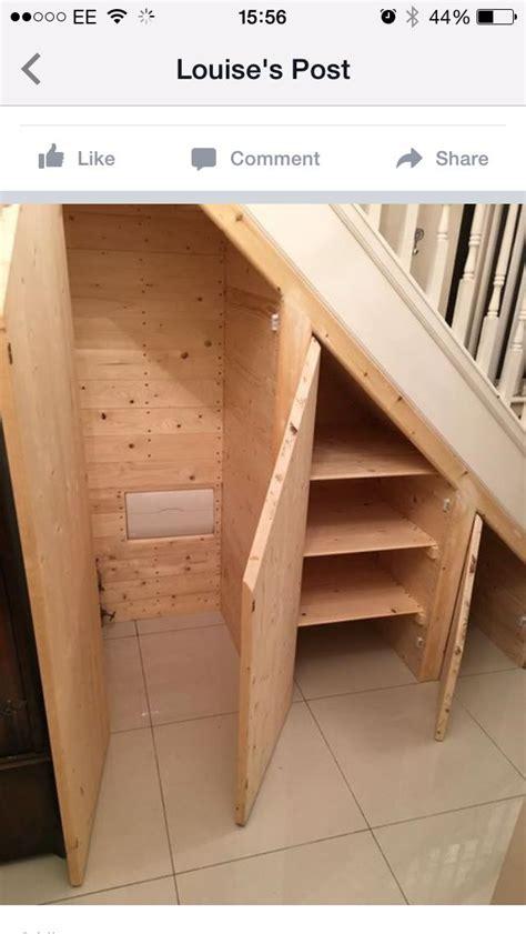 Abstellraum Unter Treppe by Understair Storage Idea Stiegenhaus Schrank Unter