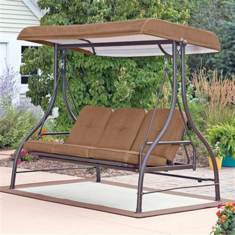 canapé swing 3 seat swing with canopy