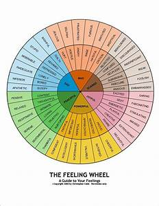 The Feeling Wheel A Guide To Your Feelings Used With