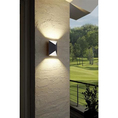 Eglo 93994   Predazzo LED Outdoor Anthracite White Up Down
