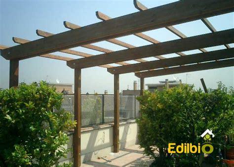 pergolato terrazzo pergolato legno terrazzo