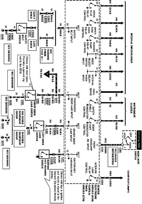 ford door ajar switch diagram wiring diagram fuse box
