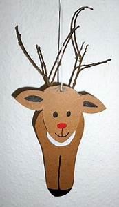Elch Basteln Vorlage : elch aus pappe zum aufh ngen weihnachten basteln meine ~ Lizthompson.info Haus und Dekorationen