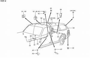 Nissan 300zx Clip  Nozzle Center Ventil Ator  Screw