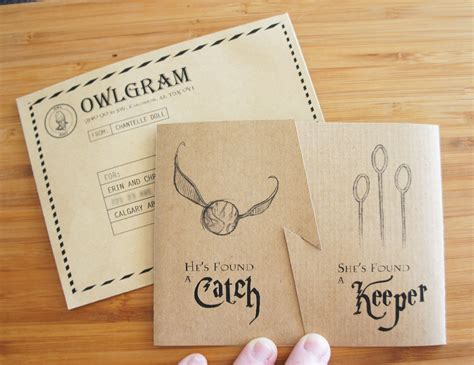 quidditch inspired invites   harry potter themed