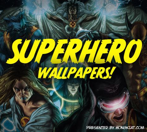Awesome Superhero Wallpapers Wallpapersafari