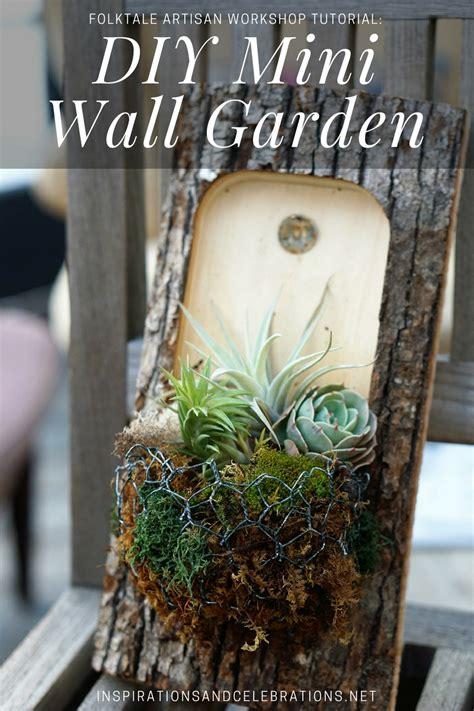 Garden Tutorial by Folktale Artisan Workshop Tutorial On Creating A Diy Mini