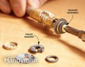 how to fix leaky faucet kitchen fix a leaking proof faucet the family handyman