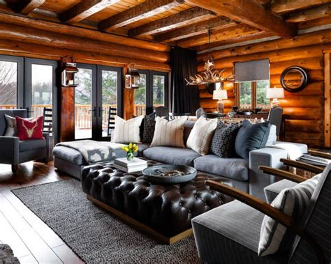 18 Cozy And Rustic Cabin Living Room Design Ideas Baby Shower Venues In South Jersey Good Songs For A Punch Recipes With Sherbet African American Decorations Cakes Girls At Walmart Candy Favors Dragon Desserts
