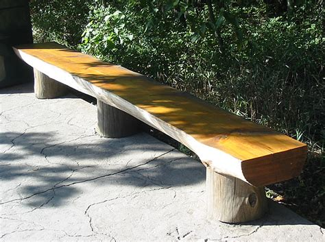 project working idea homemade wood benches